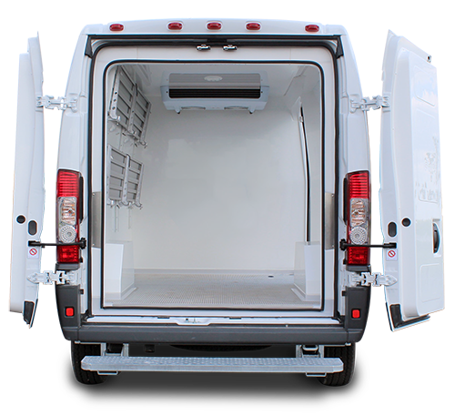 FSMA Capable Van Insulation - Gruau Vans