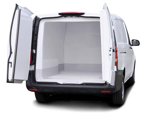 IsoTemp FSMA capable Insert on Mercedes-Benz Metris - Gruau Vans