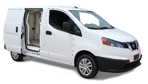 IsoTemp FSMA capable Insert on Nissan NV200 - Gruau Vans