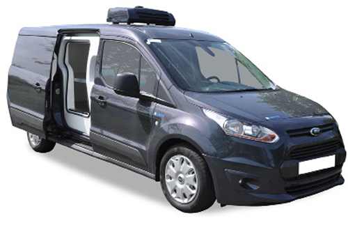 IsoTemp FSMA capable Insert on Ford Transit Connect - Gruau Vans